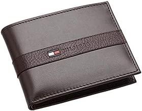 Tommy Hilfiger Leather Men'S Wallet Ranger Passcase, Brown-31Tl22X062200