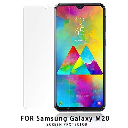 NUPO 2 Stück Samsung Galaxy M20 Panzerglas Folie, 9H Härte Panzerglas Folie, HD Displayschutzfolie/Panzerfolie, 2.5D Tempered Glas Schutzglas, Handy Hartglas Schutzfolie für Samsung Galaxy M20