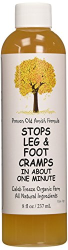 Caleb Treeze Organic Farms Stops Leg & Foot Cramps