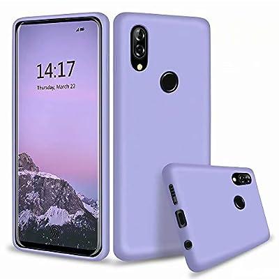 MUTOUREN Funda Xiaomi Redmi Note 7/Note 7 Pro - Carcasa de TPU para teléfono móvil - Ultra Delgado TPU Silicona Flexible Cover Protectora Gel Suave Bumper Case (Púrpura)