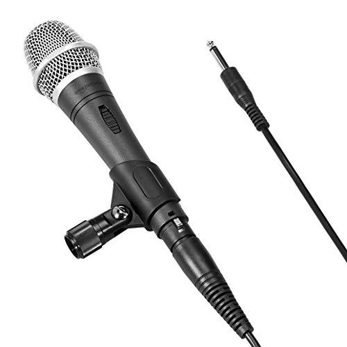 AmazonBasics Dynamic Vocal Microphone, Super Cardioid