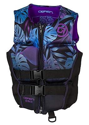 O'Brien Women's Flex V-Back Life Jacket, Spark