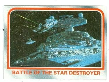 Star Max 84% OFF At the price Wars Empire Strikes Back trading Topps card D #54 1980