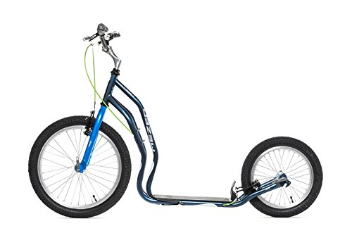 Monopattino Yedoo 2014 Mezeq New 2014 V-Brake Scooter 20´16´ (Grigio - Blue)
