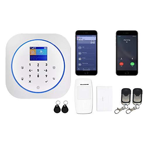 Alarma de la Puerta Ventana Aplicación Controlada De Alarma Inteligente Sistema De Seguridad Antirrobo DIY Kit Inalámbrico for Oficina Piso Piso De Negocios Alarma Anti-Robo