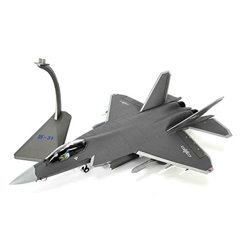 SSBH 01:48 Aéromodélisme J31 Fighter Modèle de Simulation de métal Aigle modèle Militaire for Les Enfants en Bas âge Enfants Adultes Garçons Filles Collectionneurs Cadeaux Décoration