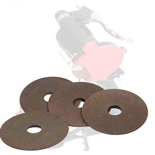 "KCHEX (Lot 4) Chainsaw Sharpener Replacement Grinding Wheel 7/8"" Arbor Sharpening 4-1/4"" Louisiana"