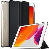 IVSO iPad 10.2 ケース ipad 7世代 ケース iPad 10.2 カバー ipad 7 ケース iPad 10.2タブレット ケース NEWモデル カバー 2019 iPad 10.2 2019スタンド機能付き 保護ケース 三つ折 マグレット開閉式 薄型 超軽量 全面保護型 NEW iPad 10.2 タブレット スマートケース ブラック
