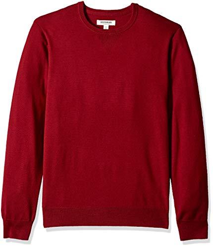 Amazon Brand - Goodthreads, maglione girocollo da uomo in lana merino, Sandali Adventure...