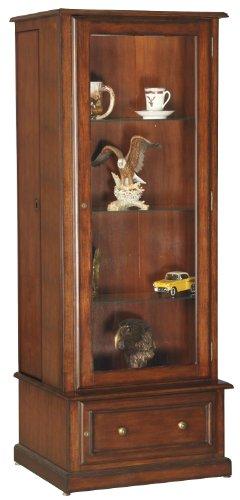 American Furniture Classics 10 Gun Curio/slider Cabinet - 610