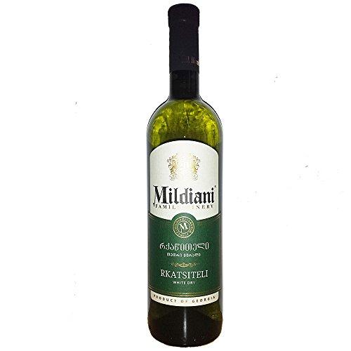 Mildiani Weißwein Rkatsiteli 0,75L georgischer Wein trocken