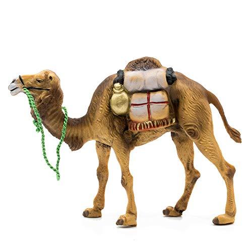 MAROLIN Kamel mit Gepäck, zu 9cm Fig. (Kunststoff)