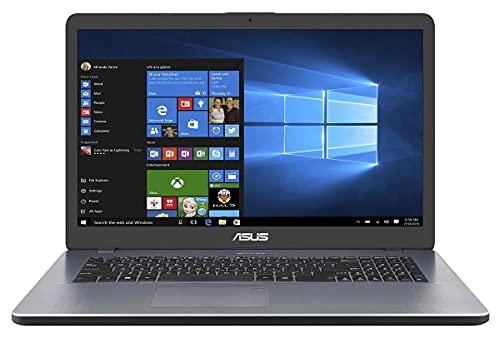 ASUS SSD (17,3 Zoll HD++) Notebook (AMD A4-9125 2x2.60 GHz, 8GB DDR4, 512 GB SSD, 4GB Radeon R3 Graphics, HDMI, Webcam, Bluetooth, USB 3.0, Windows 10, MS Office 2010 Starter) #6568