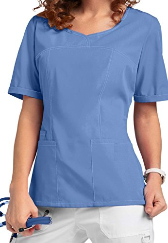 Smart Uniform V-Neck Modern Fit Scrub046 1121 (S, Ceil 1)