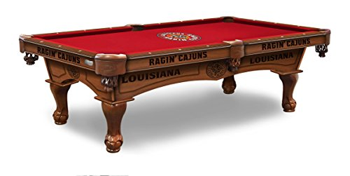 Fantastic Deal! Holland Bar Stool Co. Louisiana-Lafayette 8' Pool Table by The