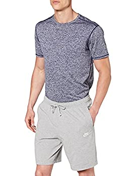 Nike Men s Nike Sportswear Club Short Jersey Dark Grey Heather/White Small
