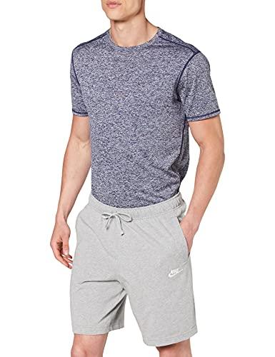 Nike Sportswear Club Fleece M, Pantaloncini Uomo, Grigio (Dk Grey Heather White), S