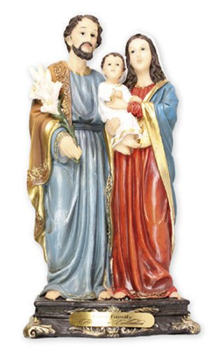 Florentine Collection Figurine en résine de la Sainte Famille Marie Joseph Jésus 20 cm