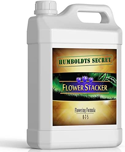 Humboldts Secret Flower Stacker – Flowering Plant Food – Nutrient System for Potting Soil for Indoor Plants & Outdoor Plants - 8 Ounce