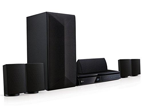 LG LHB625 Sistema Home Cinema Blu-ray 3D 5.1ch da 1000W con Smart TV e Bluetooth, Nero