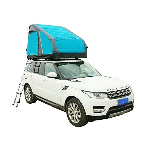 HLCOK Car Roof Top Tent Glamping 3 Person Inflatable Fishing Tent for Outdoor Camping