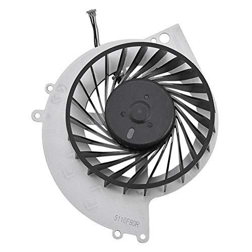 Demeras Ventola di Raffreddamento Ventola di Raffreddamento della CPU Radiatore Interno della Console di Gioco per Console di Gioco PS4-1000 Nero Argento 1PCS