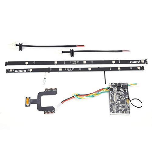 SolUptanisu Placa de Circuito de batería de Scooter eléctrico, Placa de Controlador de batería de Litio de Scooter eléctrico, Juego de Piezas de Placa de Circuito BMS para Xiaomi M365