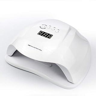 Profesional Lámpara Secador De Uñas 54W LED/UV Lámpara Temporizador Profesional De Gel Para Manicura Y Pedicura Con Sensor, Gran Espacio Interior Panel Extraíble 4 Modos