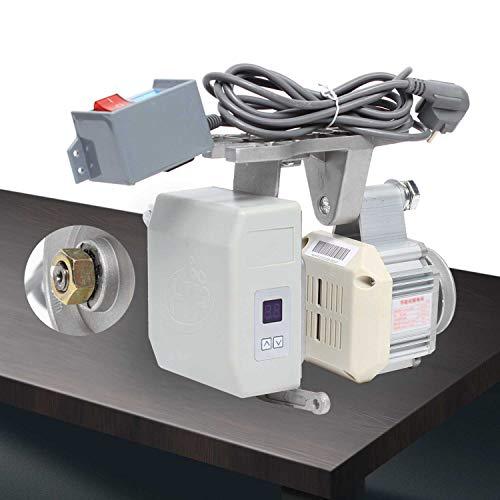 Fetcoi Motor de máquina de coser – Servomotor eléctrico sin escobillas 550 W, motor sin cola de bajo consumo 4500 rpm, motor para máquina de coser industrial 220 V