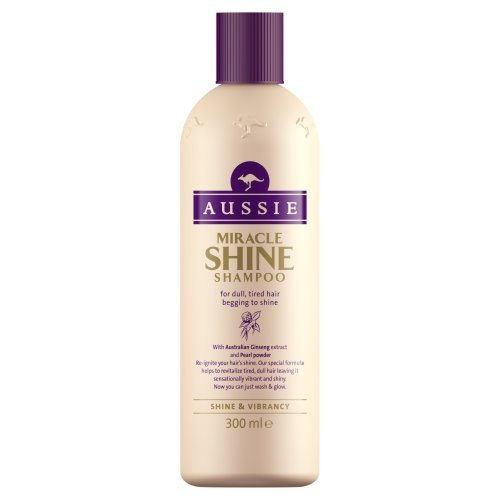 Aussie Shampoo Miracle Shine für stumpfes, glanzloses Haar 300ml