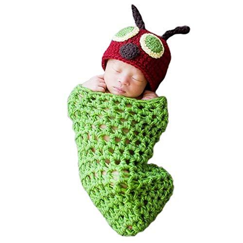 TXDIRECT Monatsdecke Baby KostüM Baby Junge Neue Geboren Neugeborenen Baby Foto Requisiten Neugeborenen Baby Mädchen Neugeborenen Baby Hut
