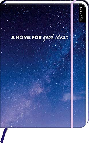 myNOTES A home for good ideas - Notizbuch im Maxiformat für Träume, Pläne und Ideen
