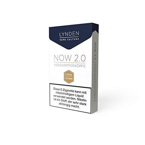 LYNDEN NOW 2.0 Verdampferköpfe - Coils Größe 1,0 Ohm