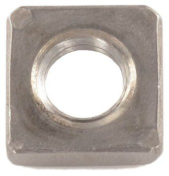 1000pcs DIN 562 M4 Very popular Square Thin Sacramento Mall Steel Nuts Stainless Ships A4