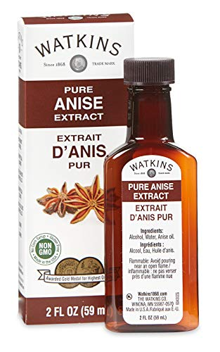 Watkins Pure Anise Extract, 2 oz. Bottles, Pack of 6 (Packaging May Vary)