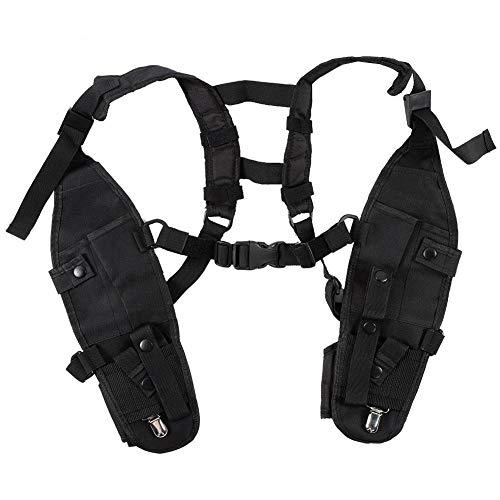 Tangxi Universal-Funk-Schulterholster, Freihändiger Rettungsschutz für Taktische Weste mit verstellbarem Schultergurt Essentials