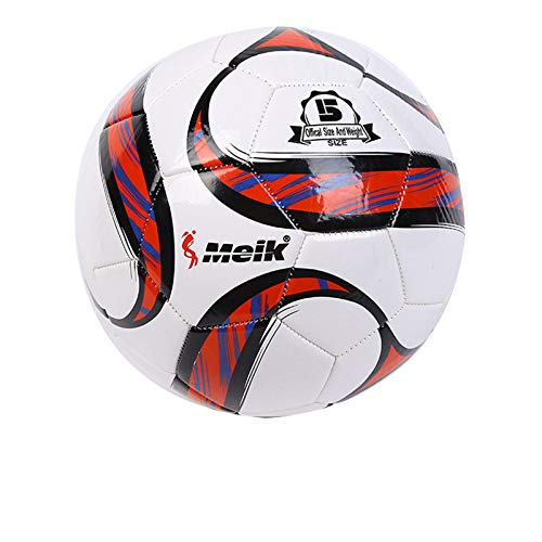 CKR Football Match Ball Size 5 Official Training Football Adults Or Kids Children Adults for Training Practice Indoor Outdoor Games Ball,b