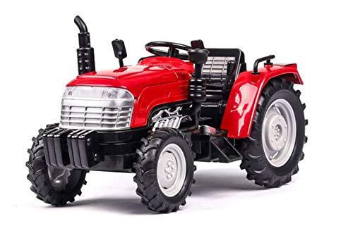 HCEB Coche Fundido Modelo 1:32 Modelo de Coche de simulación Tractor, Coche, Juguetes vehículos luz de Sonido Coches de Granjero colección de Coches para niños (Color : 2)