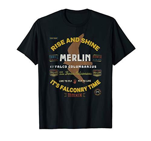 Merlin Falconers T-Shirt Merlin Falconer Falconry Supplies T-Shirt