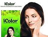 Best Organic Hair Dyes - iColor Organic Hair Dye Shampoo Black 25ml Review