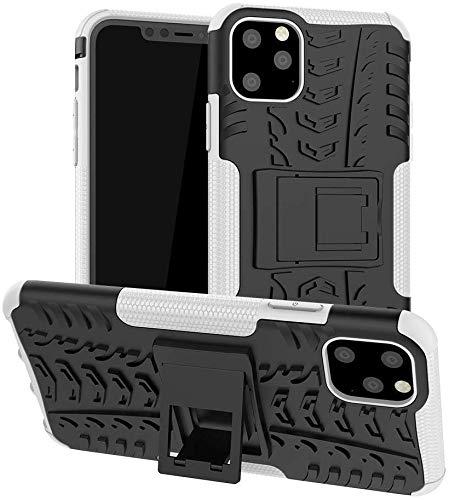 Lapinette – Carcasa compatible con Apple iPhone 11 Pro antigolpes – Carcasa para iPhone 11 Pro – Protección antigolpes – Protección Apple iPhone 11 Pro – Carcasa rígida – Modelo Spider blanco