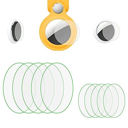Airtagsシートエアタグ保護フィルム (10枚入り)for Airtags液晶保護フィル HD高精細 高透過率 傷修復 耐指紋 衝撃吸収 滑り止め 気泡ゼロ 快速吸着 気泡防止 キズから保護 曲面対応
