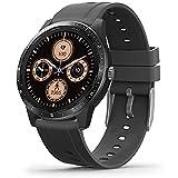 MorePro Smart Watch 20 Sport Modes Fitness Tracker Health Watch Body Temperature, Activity Tracker with Heart Rate Blood Pressure Sleep Monitor, IP68 Waterproof Smartwatch for Women Men (Black)