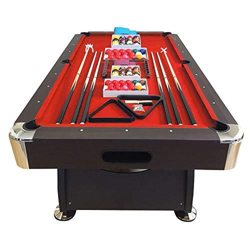 Mesa de billar de 8 pies roja Snooker Completo de Accesorios – Viper Red