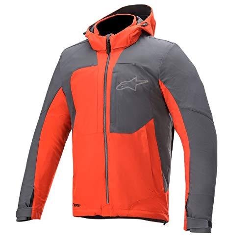 Alpinestars Motorradjacken Stratos V2 Techshell Drystar Jacket Bright Red Asphalt, BRIGHT/RED/ASPHALT, L