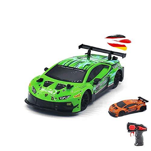 Lamborghini Huracan GT3 - Coche teledirigido (escala 1:24, listo para conducir, incluye mando a distancia)