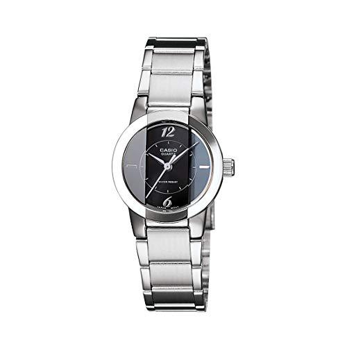 Casio Enticer Analog Black Dial Women's Watch - LTP-1230D-1CDF (SH33)