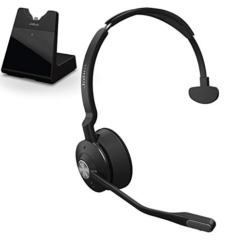 Jabra Engage 75 Wireless Headset, Mono – Telephone Headset with Industry-Leading Wireless Performance, Advanced Noise-Cancelling Microphone, Call Center Headset with All Day Battery Life