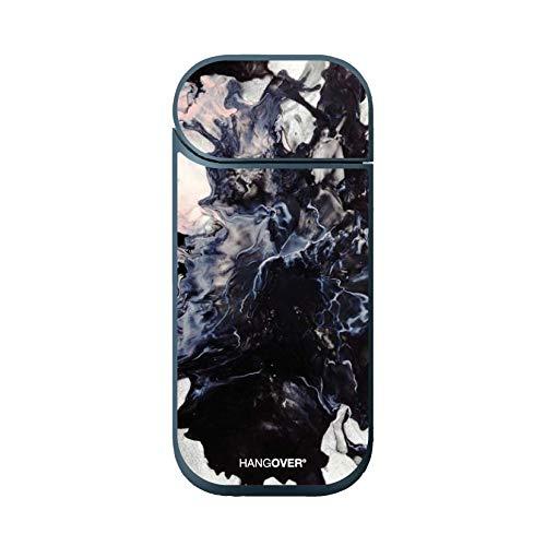 Hangover Cover Skin Adesiva in Resina Speciale per Iqos Device 2.4 e 2.4+ Cosmic Black Design
