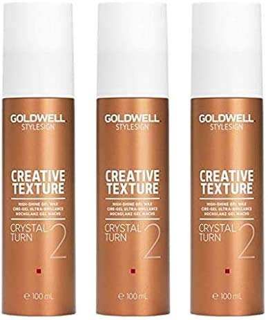 Goldwell Crystal Turn 3 x 100 ml Style Sign Curl GW Locken Gel Wachs